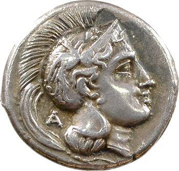 Lucanie, didrachme, Vélia, c.300-280 av. J.-C.