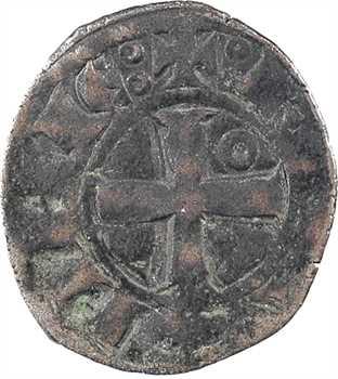 Bretagne (duché de), Jean III, denier aux sept mouchetures, s.d