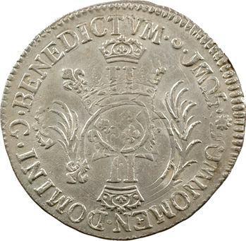 Louis XIV, demi-écu aux huit L, 2e type, 1705 Poitiers