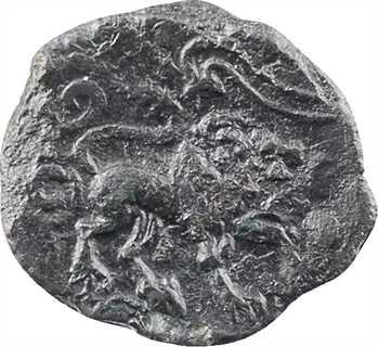 Véliocasses, bronze SVTICCOS RATVMAGOS au lion, c.50 av. J.-C.