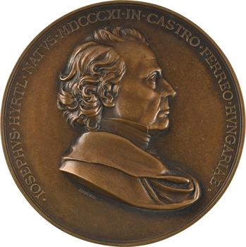 Hongrie, Joseph Hyrtl, anatomiste et physicien autrichien, par Jauner, Vienne