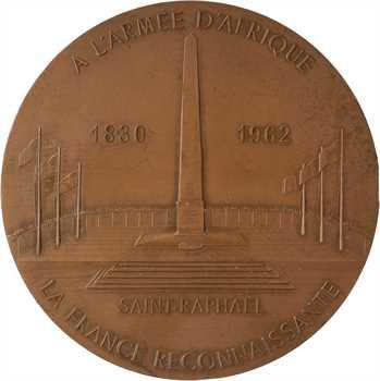 Ve République, mémorial de Saint-Raphaël, à l'Armée d'Afrique, 1962 (1977) Paris