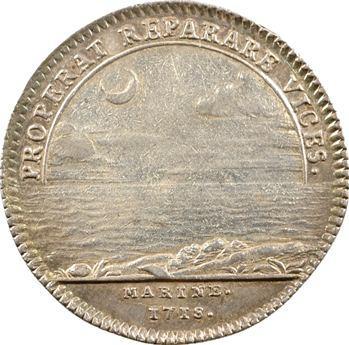 Marine, Louis-Alexandre de Bourbon, 1718