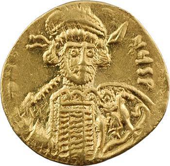 Constantin IV, solidus, Constantinople, officine indéterminée, c.674-681