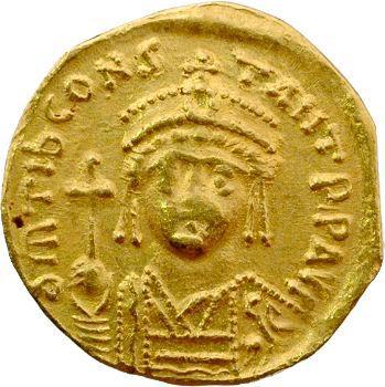 Tibère II Constantin, solidus, Antioche, 578-582