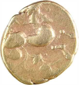 Namnètes, quart de statère à l'hippophore, c.80-50 av. J.-C
