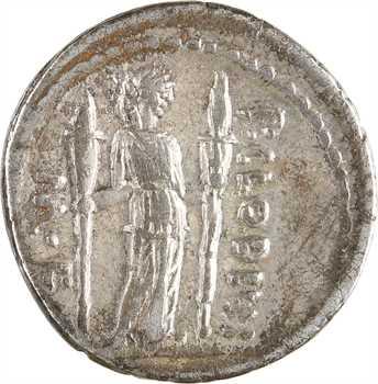 Claudia, denier, Rome, 42 av. J.-C