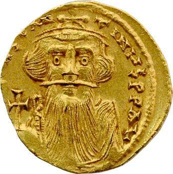 Constant II, solidus, Constantinople, 651-654