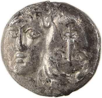 Thrace, Istros, trihémiobole (delta-I), IVe s. av. J.-C