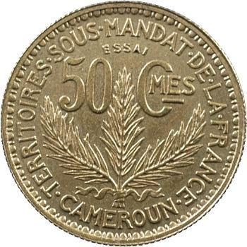 Cameroun, essai de 50 centimes, 1924 Paris