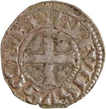 Poitou (comté de), Alphonse de France, denier, Montreuil-Bonnin ?