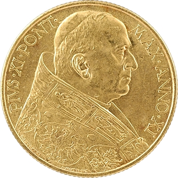 Vatican, Pie XI, 100 lire, 1932 (XI) Rome