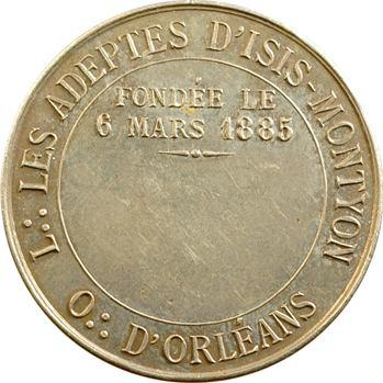 Orient d'Orléans, les adeptes d'Isis-Montyon, 1885 Paris