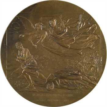 Ire Guerre Mondiale, Georges Clémenceau aux armées, par Gilbault, 1918 Paris