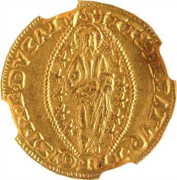 Italie, Venise (ville de), Francesco Donato, sequin d'or, s.d. (1545-1553), NGC MS62
