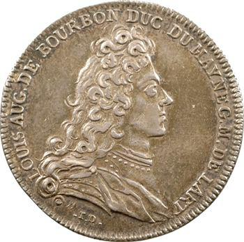 Artillerie, Louis-Auguste de Bourbon, 1731