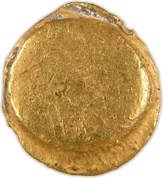 Morins (Digeon, Somme), quart de statère au pseudo-casque, c.70-50 av. J.-C