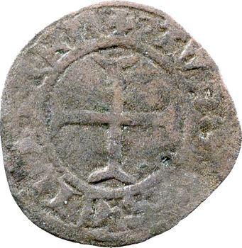Charles VII, denier tournois au K, Toulouse