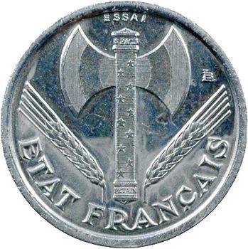 État Français, essai de 50 centimes francisque, 1942 Paris