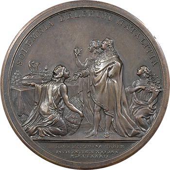 Louis XVI et Marie-Antoinette, fêtes pour la naissance du Dauphin, 1782 Paris