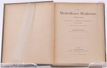 Marx (R.), Les médailleurs modernes 1789-1900, Paris s.d