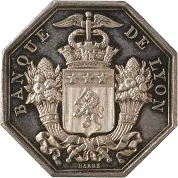 Second Empire, la banque de Lyon, par Barre, 1835 (post.) Paris