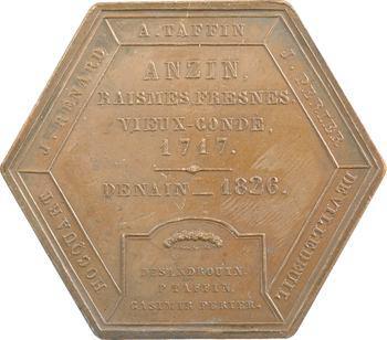 Mines de charbon d'Anzin et Vieux-Condé, Département du Nord, 1835 Paris