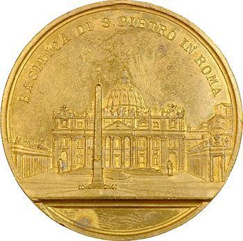 Vatican, Léon XIII, la basilique Saint Pierre, s.d. Rome