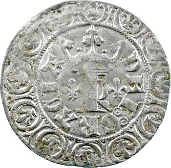 Charles V, blanc au K