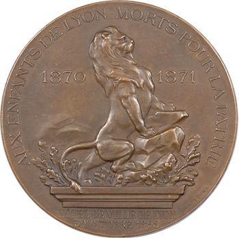 Gvt de défense nationale, Union Patriotique du Rhône (hommage aux enfants de Lyon tombés), par Rivet, 1898 Paris