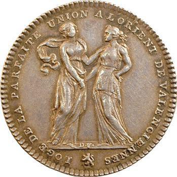 Orient de Valenciennes, la Parfaite Union, s.d. (1812) Paris
