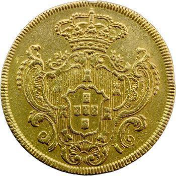 Portugal, Marie Ire, 6400 reis, 1791 Lisbonne