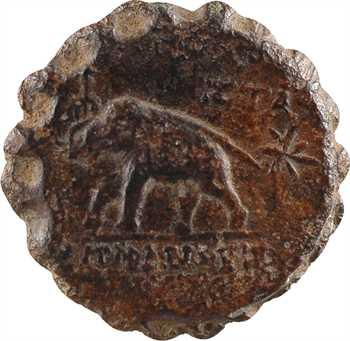 Syrie, Antiochos VI Dyonisos, bronze serratus ou AE21, Antioche, 143-142 av. J.-C