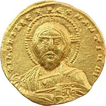 Constantin VII et Romain II, solidus, Constantinople, 945-959