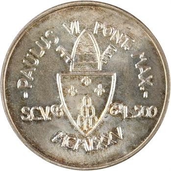 Vatican, Paul VI, 500 lire du jubilée, 1975 Rome