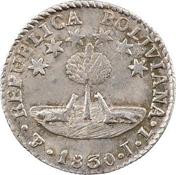 Bolivie (République de), 1/2 sol, 1830 Potosi