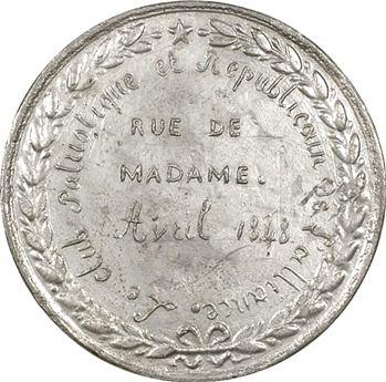 IIe République, Club patriotique et républicain de l'Alliance, avril 1848, Paris