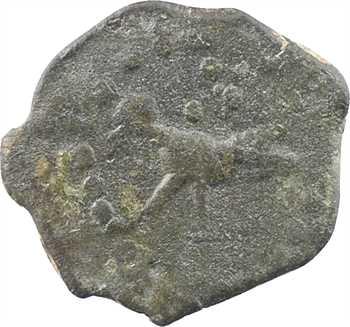 Bellovaques, bronze à l'oiseau classe II, type de Vendeuil-Caply, c.40-10 av. J.-C