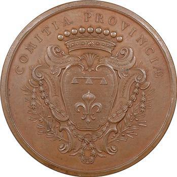 Louis XV, récompense des États de Provence à É.-M. Bouret, 1747 Paris