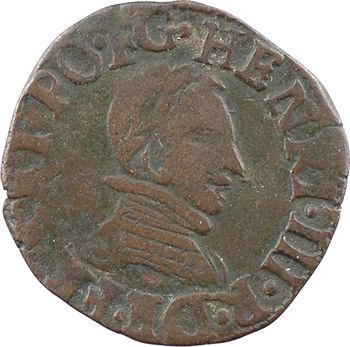 Henri III, double tournois du Dauphiné, 1581 Grenoble