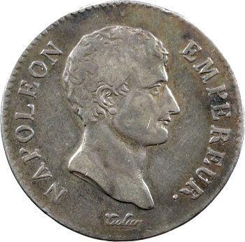 Premier Empire, 2 francs calendrier révolutionnaire, An 13 Toulouse