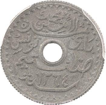 Tunisie (Protectorat français), Mohamed Lamine, essai de 10 centimes, PCGS SP64, 1945 Paris