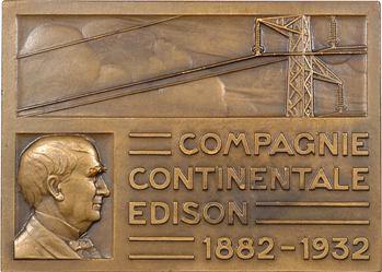 Turin (P.) : cinquantenaire de la Compagnie Continentale Edison, 1932 Paris