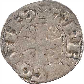 Troyes (comté de), Thibaut V, denier, Troyes
