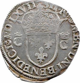 Charles IX, teston 2e type, 1567 Nantes