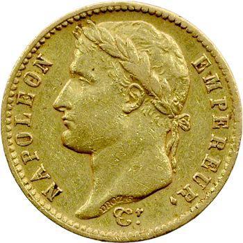 Premier Empire, 20 francs Empire, 1812 Rome