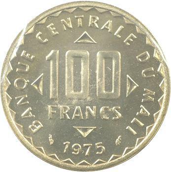 Mali (République du), essai de 100 francs, 1975