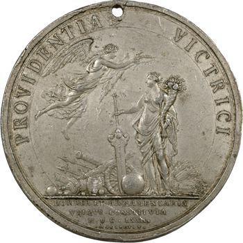Louis XIV, les magasins de guerre, cliché de Molart, 1672, frappe ancienne