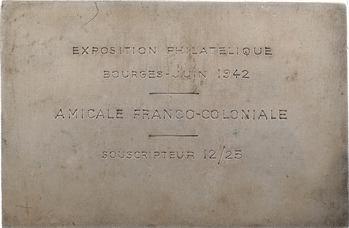 Cochet (R.) : la philatélie, médaille-timbre, s.d. Paris
