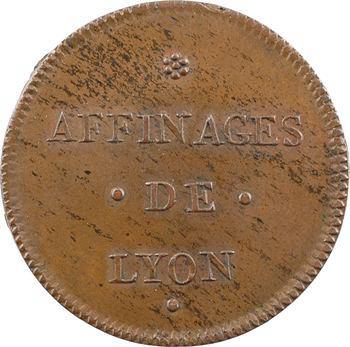 Lyonnais, les affinages de Lyon, 1744 Paris